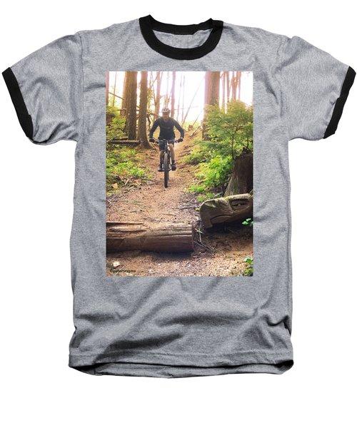 Eagle Jump Baseball T-Shirt