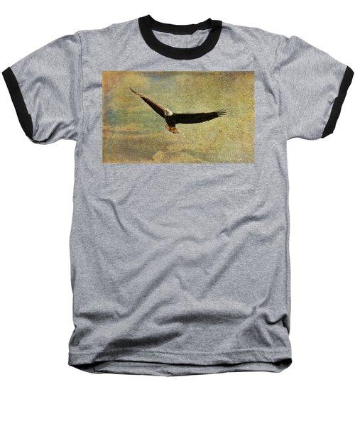 Eagle Medicine Baseball T-Shirt by Deborah Benoit