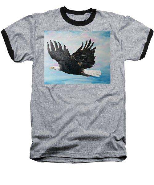 Eagle On A Mission      11 Baseball T-Shirt