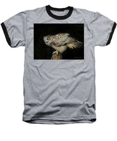 Eagle-owl Baseball T-Shirt