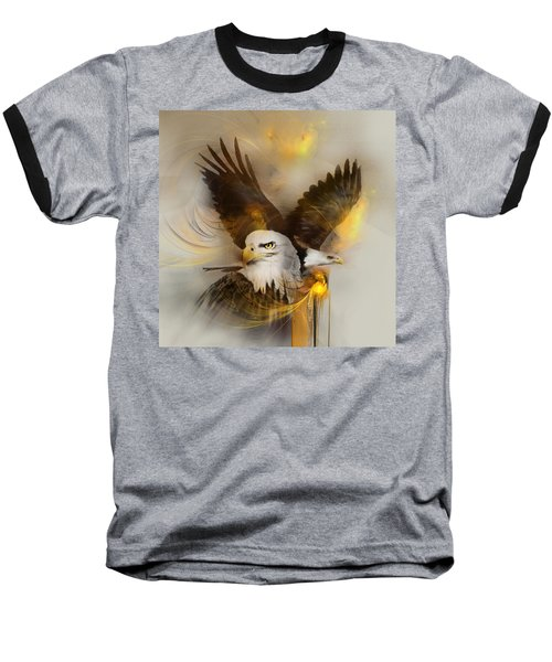 Eagle Pair Baseball T-Shirt