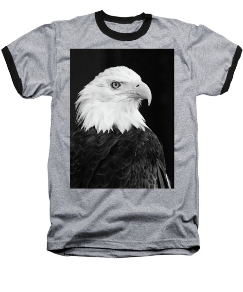 Baseball T-Shirt featuring the photograph Eagle Portrait Special  by Coby Cooper