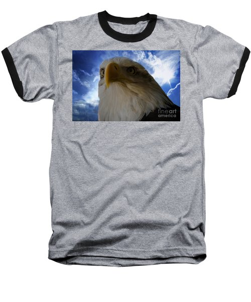 Eagle Baseball T-Shirt by Sherman Perry