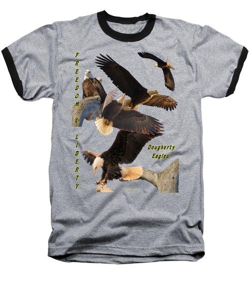 Eagle T-shirt Baseball T-Shirt by Bonfire Photography