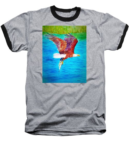 Eagle's Lunch Baseball T-Shirt