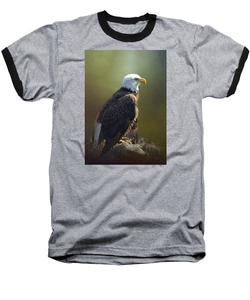 Eagles Rest Ministries Baseball T-Shirt by Carla Parris