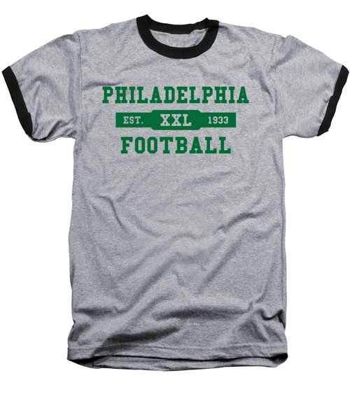 Eagles Retro Shirt Baseball T-Shirt by Joe Hamilton