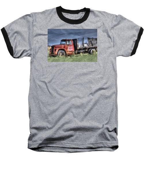 Baseball T-Shirt featuring the photograph Earl Latsha Lumber Company Version 2  by Shelley Neff