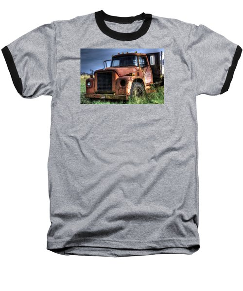 Baseball T-Shirt featuring the photograph Earl Latsha Lumber Company Version 3 by Shelley Neff