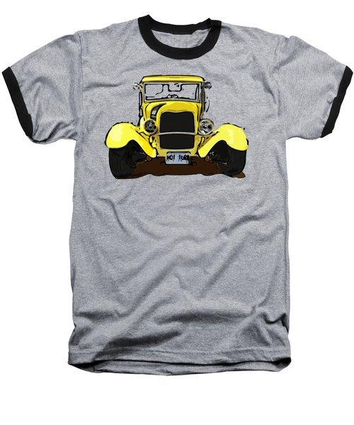 Early 1930s Ford Yellow Baseball T-Shirt