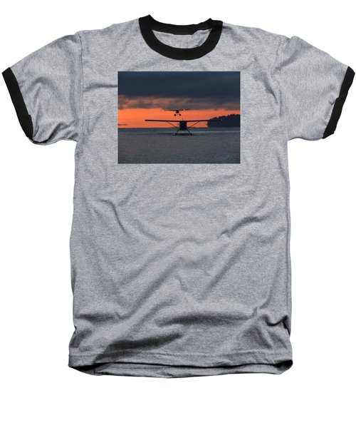 Early Arrivals Baseball T-Shirt by Mark Alan Perry