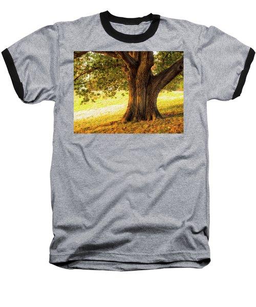 Early Autumn Oak Baseball T-Shirt