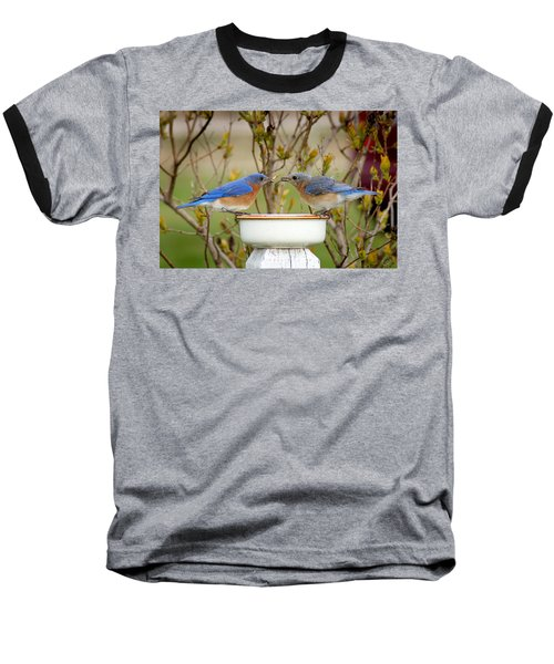 Early Bird Breakfast For Two Baseball T-Shirt