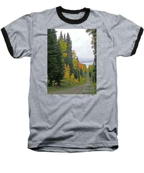 Early Fall Color Display In Colorado Baseball T-Shirt