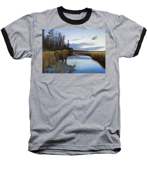 Early Flight Baseball T-Shirt