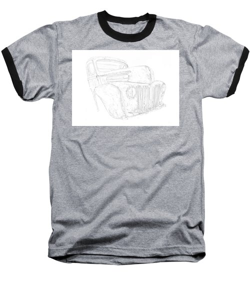 Early Ford Truck Baseball T-Shirt