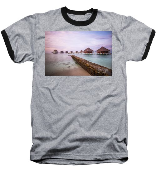 Baseball T-Shirt featuring the photograph Early In The Morning by Hannes Cmarits