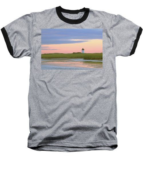 Baseball T-Shirt featuring the photograph Early Light At Wood End Light by Roupen  Baker