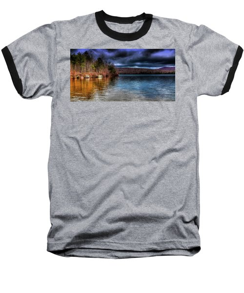 Baseball T-Shirt featuring the photograph Early May On Limekiln Lake by David Patterson