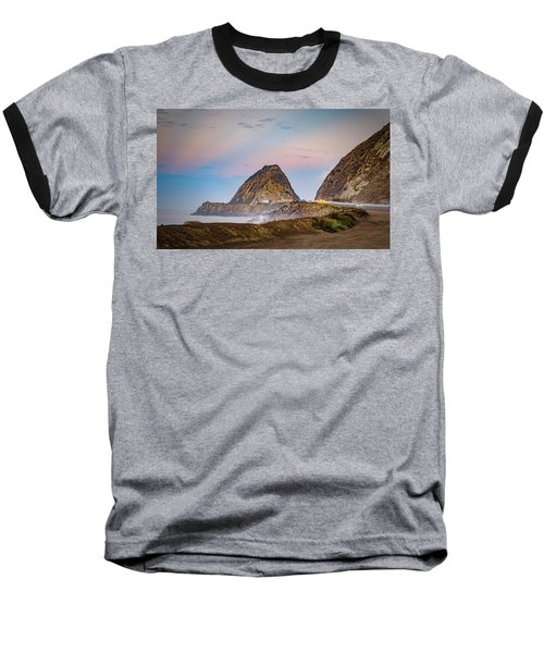 Early Morning At Mugu Rock Baseball T-Shirt