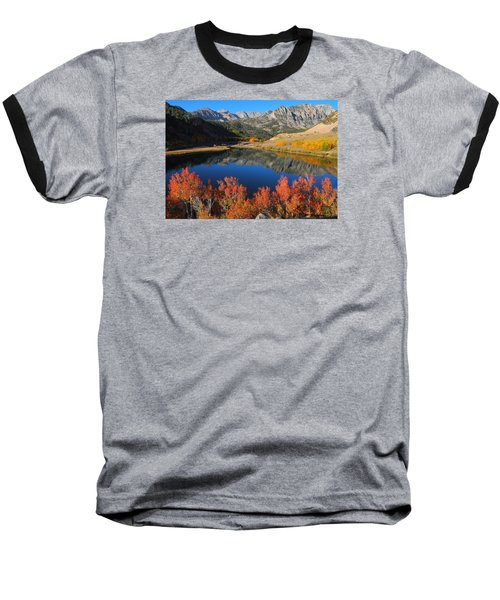 Early Morning At North Lake In Bishop Creek Canyon Baseball T-Shirt by Jetson Nguyen
