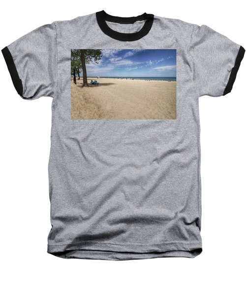 Early Morning Beach Baseball T-Shirt