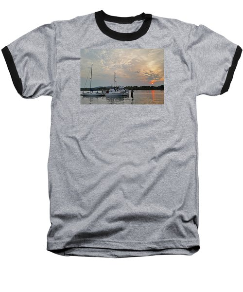 Baseball T-Shirt featuring the photograph Early Morning Calm by Suzy Piatt