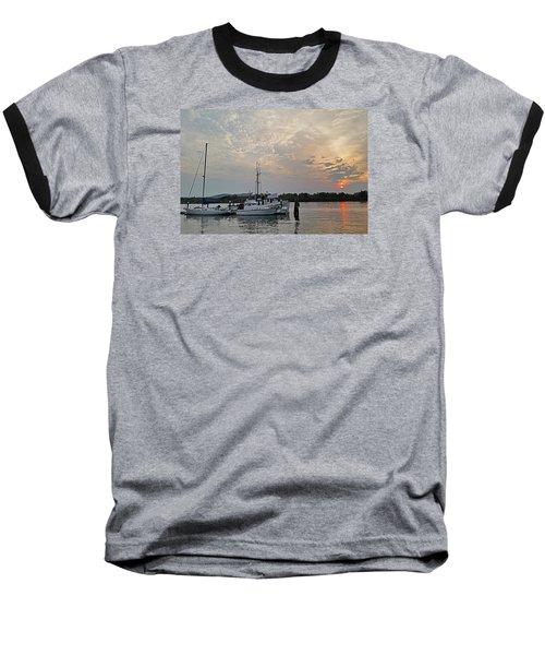 Early Morning Calm Baseball T-Shirt by Suzy Piatt