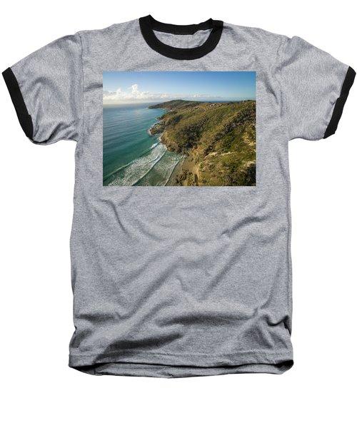 Early Morning Coastal Views On Moreton Island Baseball T-Shirt