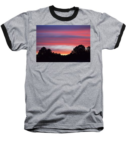 Early Morning Color Baseball T-Shirt by Kathy Eickenberg