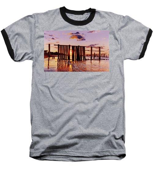 Early Morning Contrasts Baseball T-Shirt