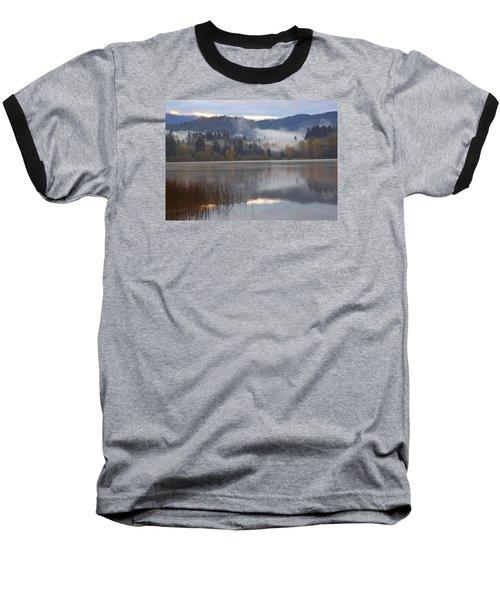 Early Morning Baseball T-Shirt by Elvira Butler