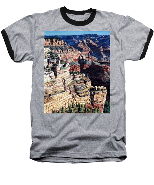 Early Morning From The South Rim Baseball T-Shirt