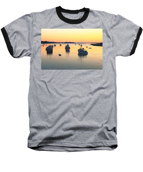 Baseball T-Shirt featuring the photograph Early Morning In Chatham Harbor by Roupen  Baker