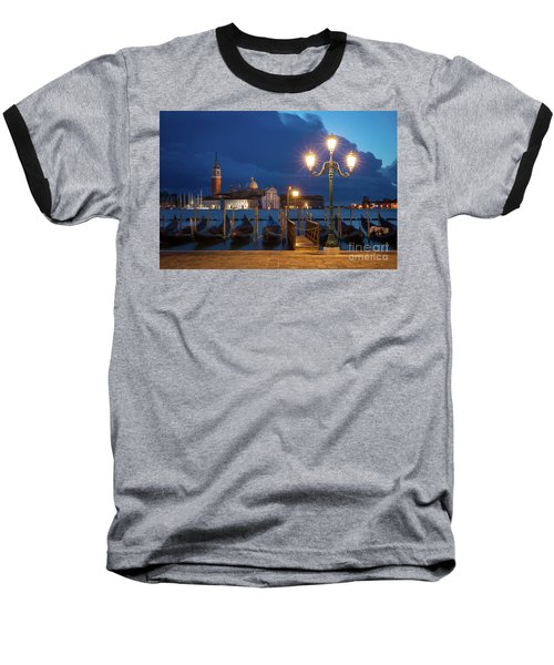 Baseball T-Shirt featuring the photograph Early Morning In Venice by Brian Jannsen