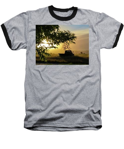 Baseball T-Shirt featuring the photograph Early Morning In Watsonville by Lora Lee Chapman
