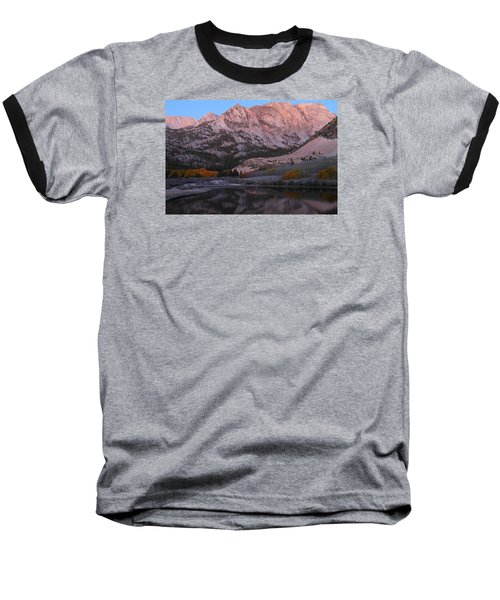 Early Morning Light At North Lake In The Eastern Sierras During Autumn Baseball T-Shirt by Jetson Nguyen