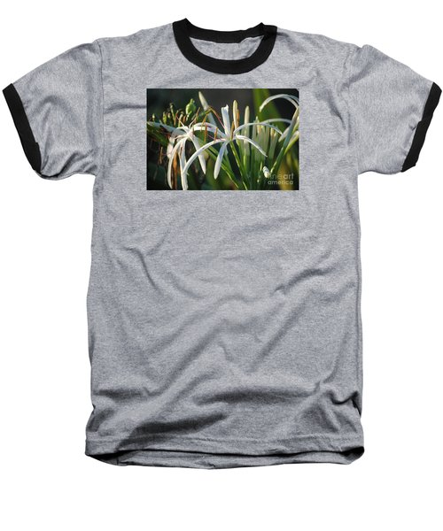 Early Morning Lily Baseball T-Shirt by LeeAnn Kendall