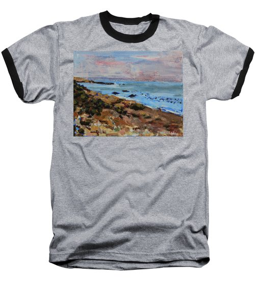 Early Morning Low Tide Baseball T-Shirt