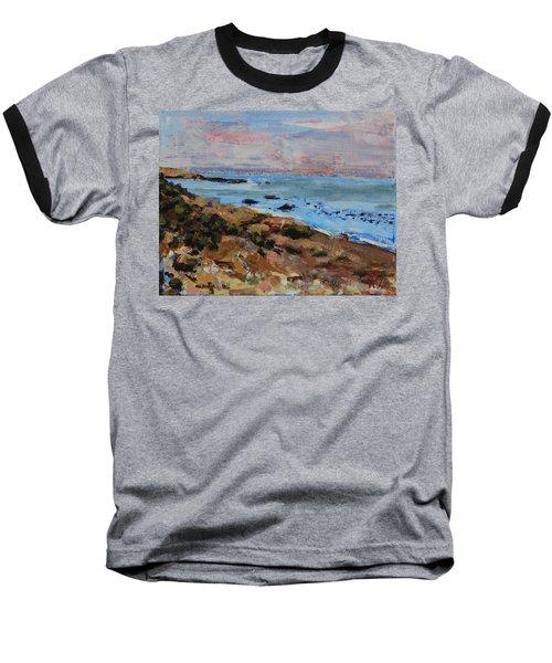 Early Morning Low Tide Baseball T-Shirt