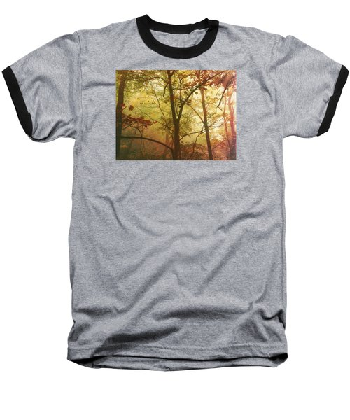 Early Morning Mist Baseball T-Shirt by Bellesouth Studio