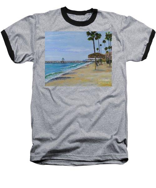 Early Morning On The Beach Baseball T-Shirt