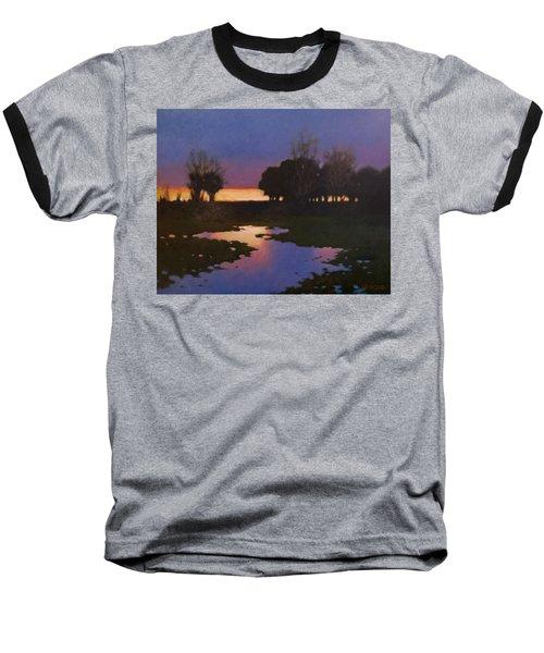 Early Morning Rice Fields Baseball T-Shirt