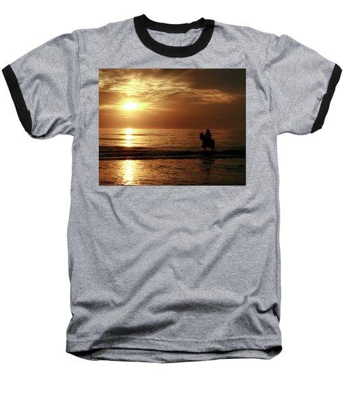 Early Morning Ride Baseball T-Shirt