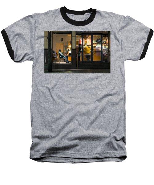 Early Morning Ritual Baseball T-Shirt