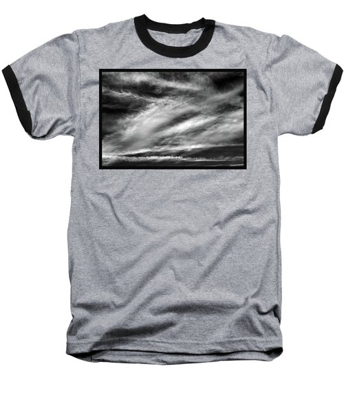 Baseball T-Shirt featuring the photograph Early Morning Sky. by Terence Davis