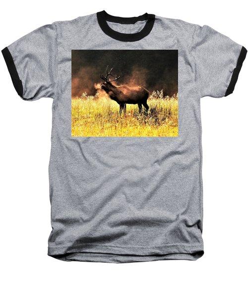 Early Morning Steam Baseball T-Shirt