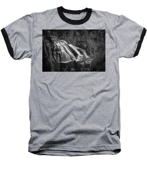 Early Morning Steam Falls Baseball T-Shirt