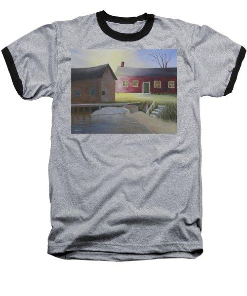 Early Morning Sun At The Shop Baseball T-Shirt
