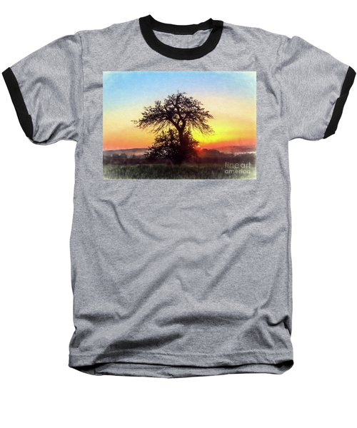 Baseball T-Shirt featuring the photograph Early Morning Sunrise by Jim Lepard